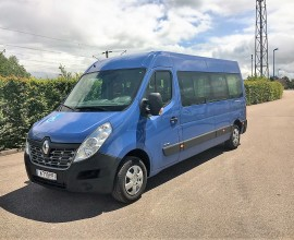 RENAULT MASTER L3H2 NEW 5 WHEELCHAIRS / 4 SEATS