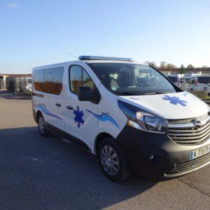 Opel Vivaro ambulance neuf