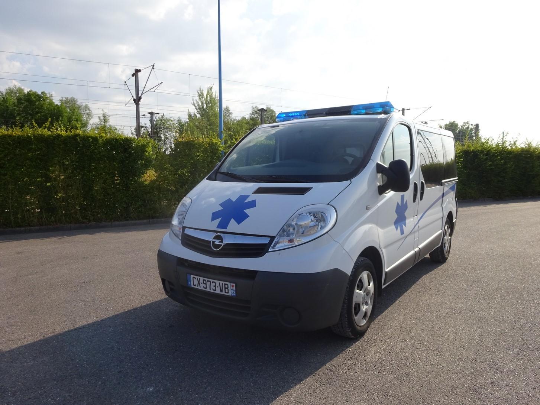 Opel Vivaro ambulance