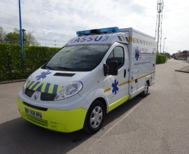 RENAULT TRAFIC CELLULE 2011